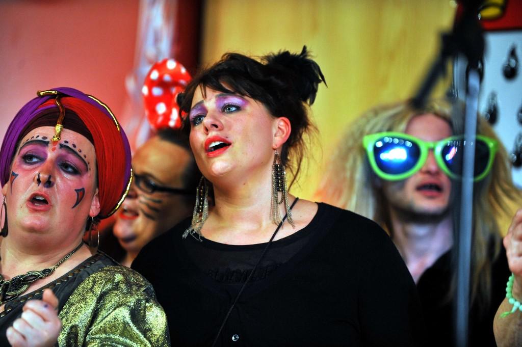 Karnevalsparty 2015 in der Hochschule für Musik und Tanz Köln