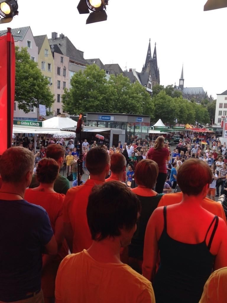 Eröffnung CSD 2014 auf der Heumarkt-Bühne