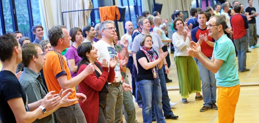 Eindrücke aus der Chorprobe